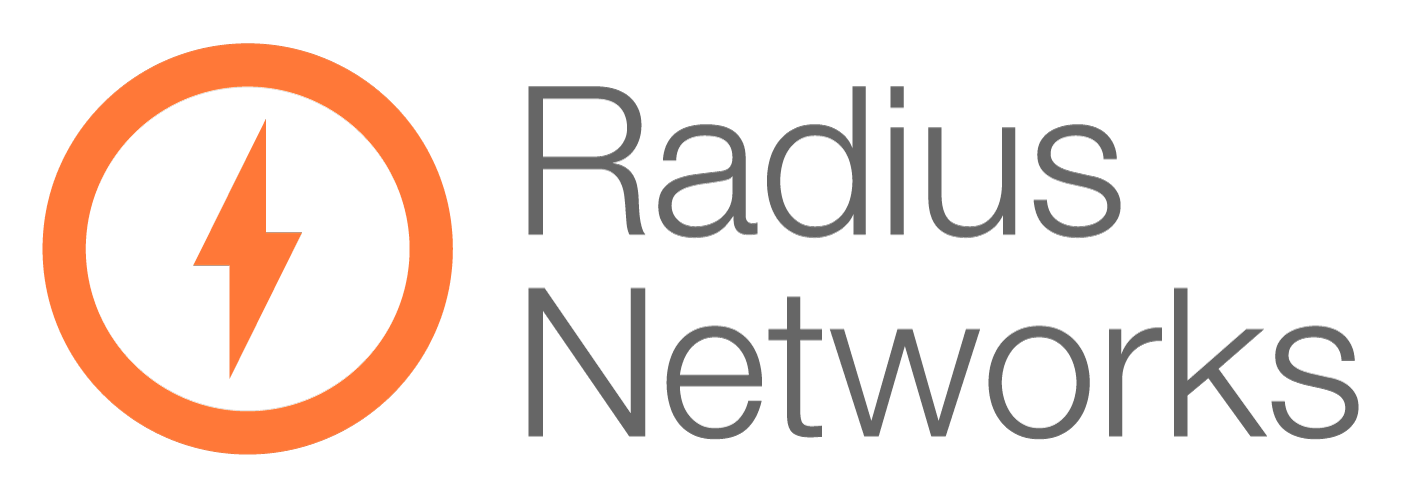 Image result for Radius Networks logo