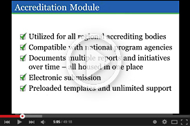Vimeo Video: Introduction to Compliance Assist, Accreditation