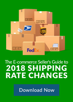 Download the E-commerce Seller's Guide to 2018 Shipping Rate Changes